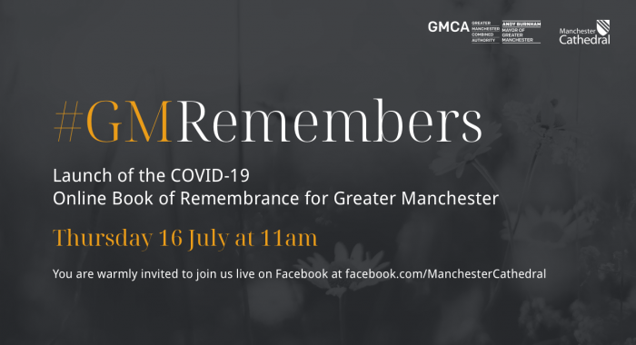 #GMRemembers Launch of the COVID-19 Online Book of Remembrance for Greater Manchester